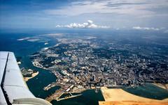 Singapore aerial view (1978)