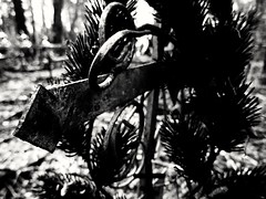 rough iron cross