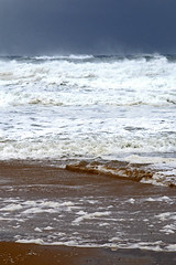 Storm surf at Redhead