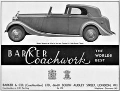 1937 Rolls-Royce Phantom III Sedanca de Ville