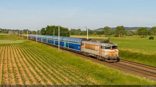 BB 22317 AEF + TGV - Hochfelden