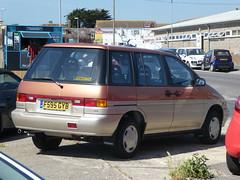 Nissan Prairie SLX 4x4 (1989)
