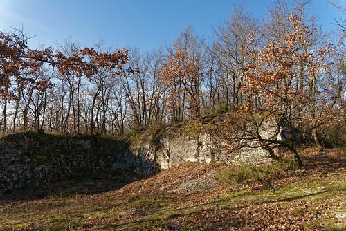 Le bastion de Quirieu - Isère