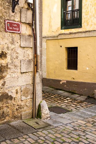 Spain - Cantabria - Laredo - St. Marcial street