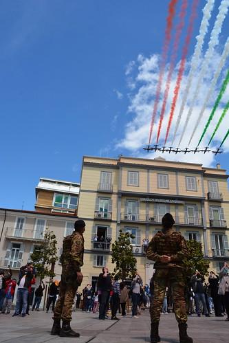 Le Frecce Tricolori a Potenza