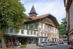 Oberammergau - Dorfstraße (25) - Geburtshaus von Ludwig Thoma
