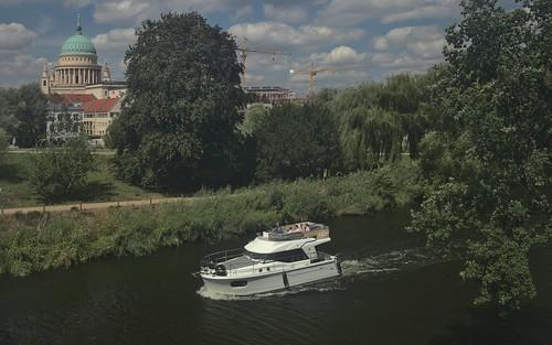 2018-08-10 DE Potsdam, Havel @ Lange Brücke