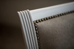 Homemade chair details.