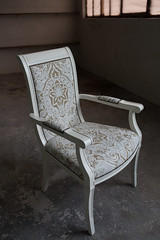 Glamour and vintage chair.