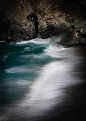 Breaker @ Beach South of Big Creek Bridge, Big Sur, CA #4