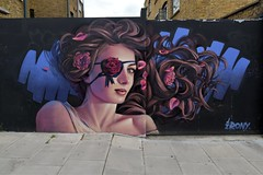 Irony: Harmood Street : Camden Town: London