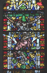 Wells Cathedral - Medieval Glass