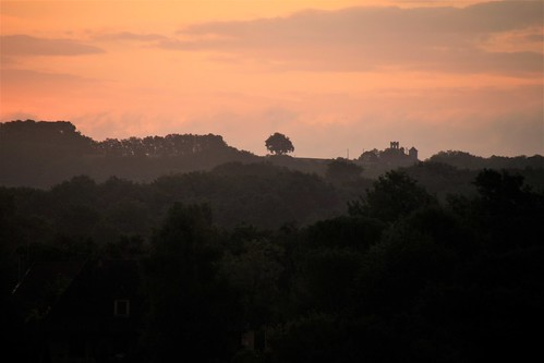 Lever de soleil en Dordogne