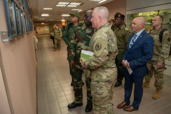 AFRICOM, African senior enlisted leaders engage U.S. counterparts.