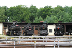 luzna_museum_4_engines_at_turntable_2017-06-25