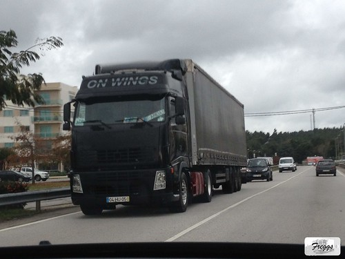 On Wings Volvo FH Curtain Sider - Portugal