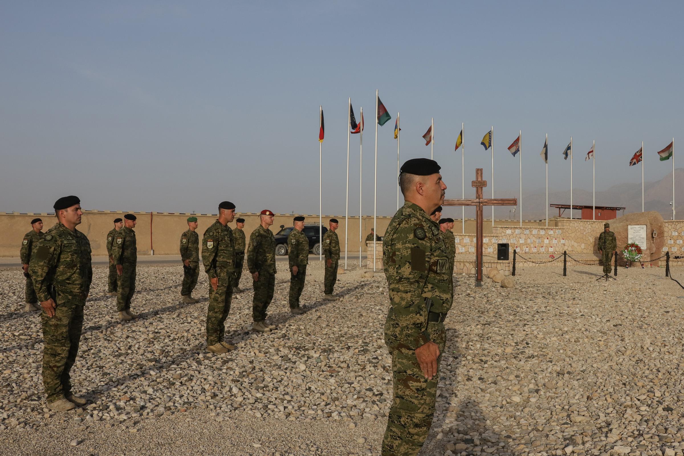 12. HRVCON obilježio Dan HV-a i HKoV-a te Dan državnosti u Afganistanu