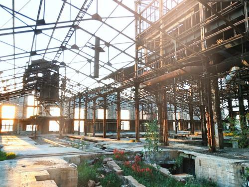 Abandoned Fertilizer Factory