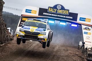 2020 WRC Rally Sweden