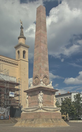 2018-08-10 DE Potsdam, Alter Markt, Obelisk