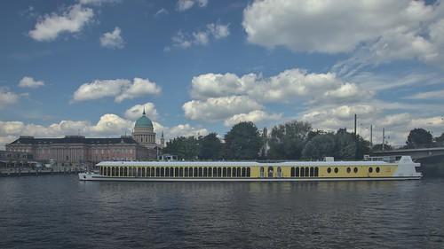 2018-08-10 DE Potsdam, Havel, Potsdamer Stadtschloss, Lange Brücke, Sanssouci 04808290