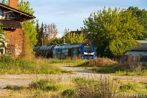 BSAS Stadler Eurodual 159 208 Kesselwagenzug Halle-Trotha (IMG_5482-2)
