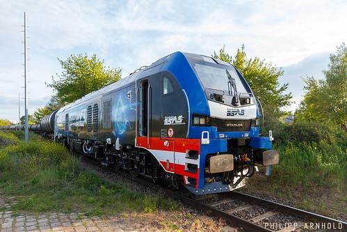 BSAS Stadler Eurodual 159 208 Kesselwagenzug Halle-Trotha (IMG_5478-2)