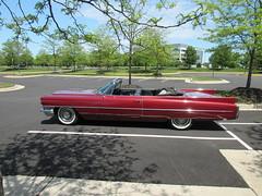 1963 Cadillac Series 62 Convertible - Side