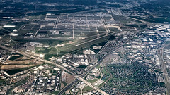 Aerial View of Dallas-Fort Worth Airport DFW