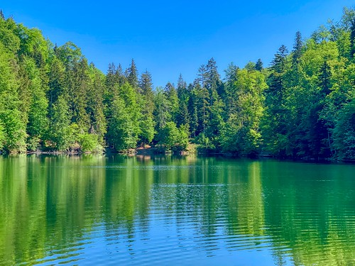 Lake Pfrillsee in Tyrol, Austria
