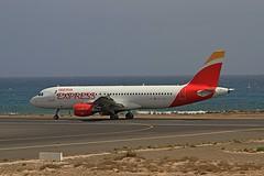EC-LEA A320 Iberia Lanzarote 07-03-2020