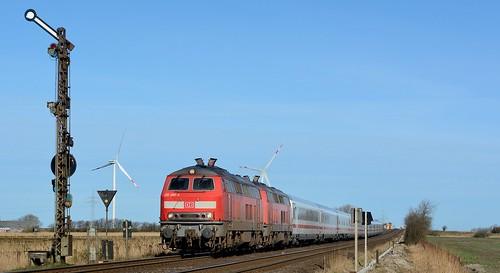 Klanxbüll, DB 218 380-4 + 218 340