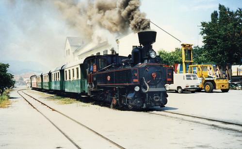 austria - Feistritztalbahn ng loco Bahnhof Weiz