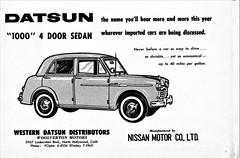 1959 Datsun 1000 4- Door Sedan
