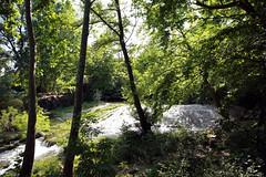 Les cascades du Lez.