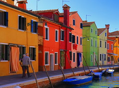 The colours of Burano