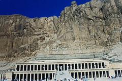 1999.10 EGYPTE - LUXOR - Temple de Deir el Bahari