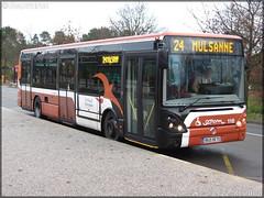 Irisbus Citélis 12 – Setram (Société d'Économie Mixte des TRansports en commun de l'Agglomération Mancelle) n°110