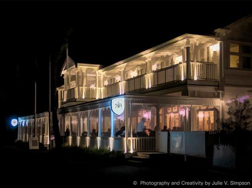 Duke of Marlborough Hotel night-graphical