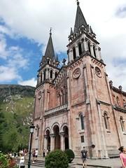 Basílica de Santa María la Real de Covadonga. Covadonga. Cangas de Onís (Asturias).