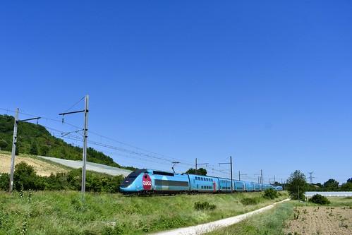 Clermont-Dessous (Fourtic) - TGV Dasye 768 - 17/05/20