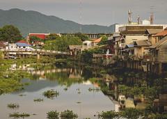 Riverside Buildings in Chanthaburi
