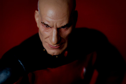 🇨🇿366/366/20200531 Jean-Luc Picard, Captain of the Starship Enterprise - my favorite doll.
