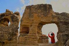 Valley of the Temples, Agrigento, Sicily, 意大利