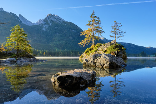 Sunrise at Lake Hintersee - Ramsau, Bavaria