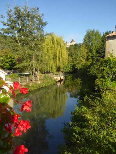River view, Couze-et-Saint-Front, Dordogne