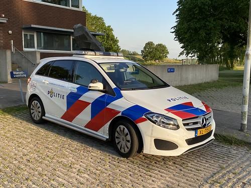 MB B220D (2019) Politie Fryslan, Noodhulpvoertuig (NL)