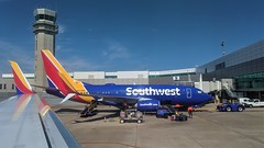 Southwest Boeing 737-700 view from SW Boeing 737-800