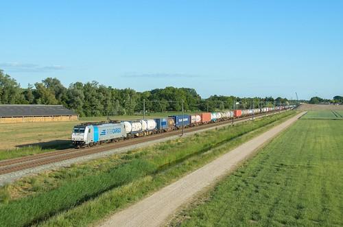 Rurtalbahn Cargo 186 425, Elst