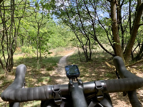 Great 81km ride trying out some 'new' gravel paths